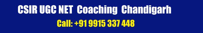 CSIR UGC NET Coaching in Chandigarh