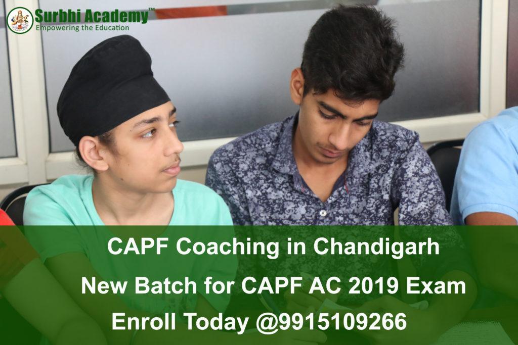 CAPF Coaching in Chandigarh