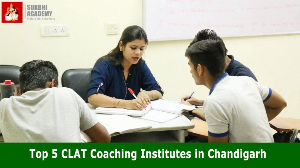 Top 5 CLAT Coaching Institutes in Chandigarh